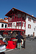 The town of Bidart, Biarrtiz, Basque country, France