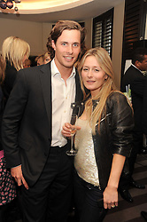 A party to promote the exclusive Puntacana Resort & Club - the Caribbean's Premier Golf & Beach Resort Destination, was held at The Groucho Club, 45 Dean Street London on 12th May 2010.<br /> <br /> Picture Shows:- NICK SMYTH and MILLY BROADBENT