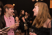 PAULA GOLDSTEIN; MOLLY GODDARD, The Veuve Clicquot Business Woman Award. Claridge's Ballroom. London W1. 11 May 2015.