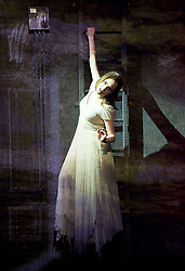 Whisper House <br /> by Duncan Sheik<br /> at The Other Place, Westminster, London, Great Britain <br /> Press photocall <br /> 13th April 2017 <br /> <br /> <br /> <br /> Niamh Perry as Female Ghost <br /> <br /> <br /> <br /> Photograph by Elliott Franks <br /> Image licensed to Elliott Franks Photography Services