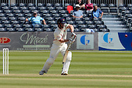 Steven Croft plays the ball during the LV County Championship Div 2 match between Gloucestershire County Cricket Club and Lancashire County Cricket Club at the Bristol County Ground, Bristol, United Kingdom on 7 June 2015. Photo by Alan Franklin.