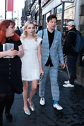 Edinburgh International Film Festival 2019<br /> <br /> Hurt By Paradise (World Premiere)<br /> <br /> Stars and guests arrive on the red carpet for the world premiere<br /> <br /> Pictured:  Director Greta Bellamacina and Robert Montgomery<br /> <br /> Alex Todd | Edinburgh Elite media