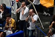 DESCRIZIONE : LNP Playoff Serie A2 Citroen 2015- 2016 Semifinale Gara 3 Eternedile Bologna - De Longhi Treviso<br /> GIOCATORE : Massimiliano Filippini arbitro<br /> CATEGORIA : arbitro curiosita<br /> SQUADRA : arbitro<br /> EVENTO : LNP Playoff Serie A2 Citroen 2015- 2016<br /> GARA : Playoff Semifinale Gara 3 Eternedile Bologna - De Longhi Treviso<br /> DATA : 04/06/2016<br /> SPORT : Pallacanestro <br /> AUTORE : Agenzia Ciamillo-Castoria/Max.Ceretti