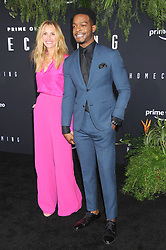 """Julia Roberts and Stephan James at the premiere of """"Homecoming"""" in Los Angeles, CA."""