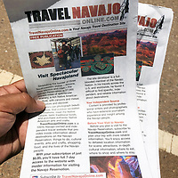 An introductory marketing publication that profiles the website has been distributed to over 75 hotels, restaurant, and tourist information centers, said Davis.
