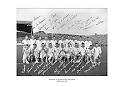 Waterford team. All Ireland Hurling final winners. 4th October 1959, 04/10/1959.