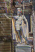 Statue of King Kamehameha I in Honolulu, Hawaii