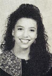 May 01, 1992; Corpus Christi, TX, USA; 'Desperate Housewives' star EVA LONGORIA had fashionably 'big hair' as a junior at Roy Miller High School in Corpus Christi, Texas in 1992. (Credit Image: © Courtesy Roy Miller High School/ZUMAPRESS.com)