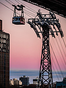 Roosevelt Island Tramway in New York city.
