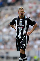 Photo: Jed Wee/Sportsbeat Images.<br /> Newcastle United v Sampdoria. Pre Season Friendly. 05/08/2007.<br /> <br /> Newcastle's new signing Alan Smith.