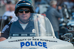 Lakeside Avenue in the Weir's during Laconia Motorcycle Week. NH, USA. June 20, 2014.  Photography ©2014 Michael Lichter.