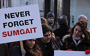 Sumgait Protest by Armenians in London 04/03/2013