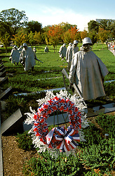 Washington DC: Korean War Veterans Memorial.  Photo #: wash99102.Photo copyright Lee Foster, www.fostertravel.com, 510/549-2202, lee@fostertravel.com