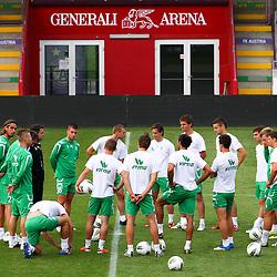 20110803: AUT, Football -UEFA EL,Practice session of FK Austria Wien and NK Olimpija Ljubljana, Wien