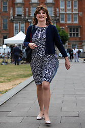 © Licensed to London News Pictures. 10/07/2018. London, UK. Former Conservative Cabinet Minister and Remain supporter Nicky Morgan MP seen in Westminster. Photo credit: Rob Pinney/LNP