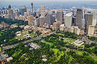 Sydney Skyline & Royal Botanic Gardens