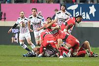 Eric Escande - 28.12.2014 - Stade Francais / Racing Club Toulon - 14eme journee de Top 14<br />Photo : Aurelien Meunier / Icon Sport