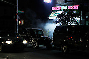 """September 4, 2016- Brooklyn, New York-United States: The Prospect-Lefferts Garden section of J'Ouvert 2016 Celebrated in Brooklyn, NYCJ'Ouvert derives from a French term """"jour overt"""" meaning day break. It dates back over 200 years when French plantation owners and stemmed from night celebrations where owners imitated slaves. This form of celebration was reversed when freed slaves began to mock their master's behavior and continued to use this form of celebration in remembrance of their emancipation.  (Terrence Jenning)"""