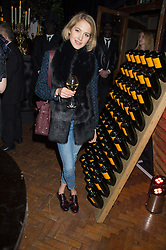 TESS WARD at the Veuve Clicquot Widow Series launch party hosted by Nick Knight and Jo Thornton MD Moet Hennessy UK held at The College, Central St.Martins, 12-42 Southampton Row, London on 29th October 2015.