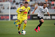 Wellington Phoenix Gary Hooper, during their 1-0 win over Melbourne City FC, during the Hyundai A-League football match, between Wellington Phoenix and Melbourne City FC, held at Eden Park, Auckland, New Zealand.  15  February  2020    Photo: Brett Phibbs / www.photosport.nz