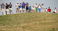 Spectators during Round One of the 2015 Alstom Open de France, played at Le Golf National, Saint-Quentin-En-Yvelines, Paris, France. /02/07/2015/. Picture: Golffile | David Lloyd<br /> <br /> All photos usage must carry mandatory copyright credit (© Golffile | David Lloyd)