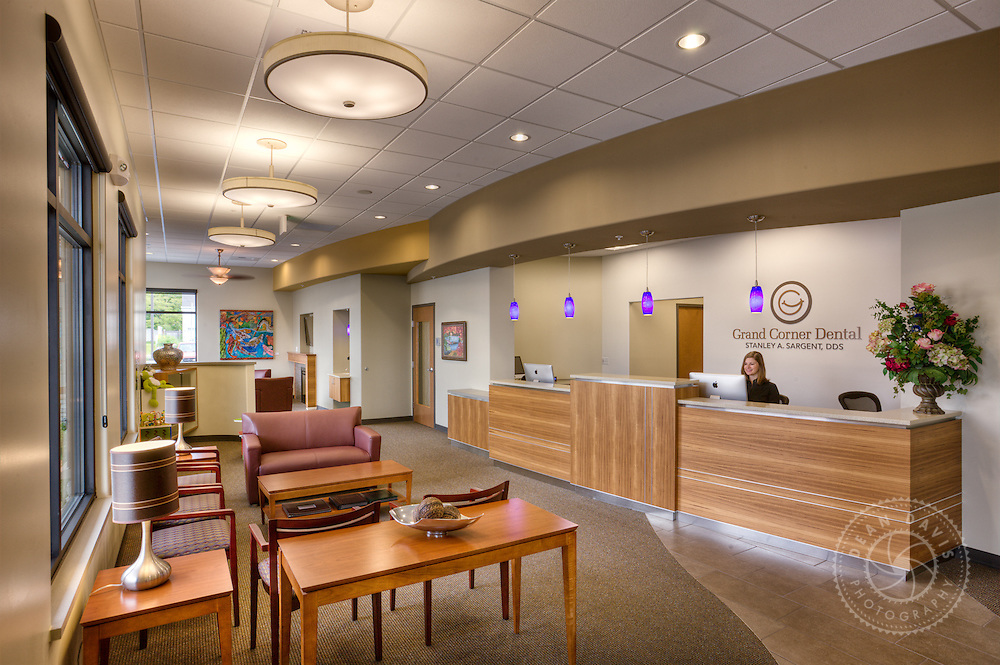 My name is Dean Davis and I am a Spokane, Washington based commercial photographer focusing on architecture, heavy industry, utilities, transportation, advertising, marketing and fine art photography. This image was made for dentist, Stan Sargent. This is his front office.