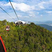 Langkawi canopy view from cable car gondola, Langkawi, Malaysia