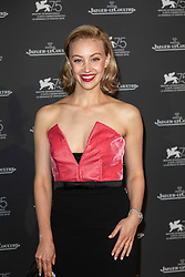 Sarah Gadon attends the Jaeger Le-Coultre Gala night held at Arsenale Docks during the 75th Venice Film Festival at Sala Grande on September 4, 2018 in Venice, Italy. Photo by Marco Piovanotto/ABACAPRESS.COM