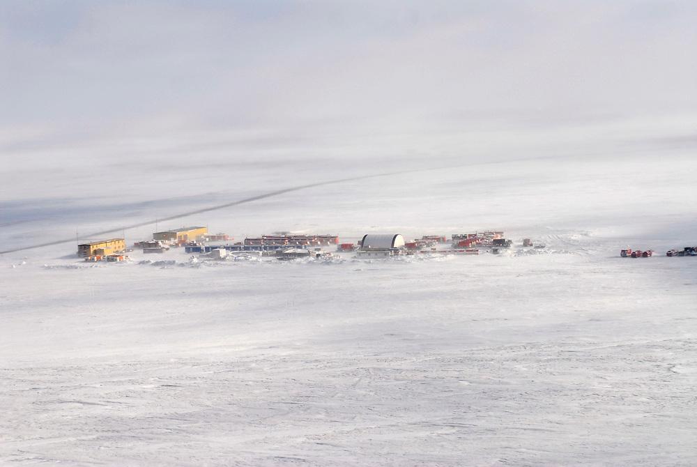Alaska. Deadhorse. Work Camp on the desolate arctic plane. Spring 2007
