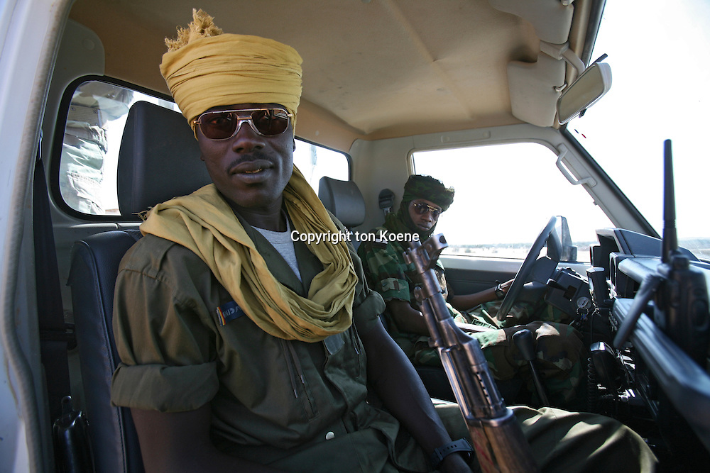Chadian police officers