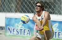 Volleyball, Sandvolleyball, World Tour Stavanger, Grand Slam, 29/06-05,<br />Brinkborg, sverige,<br />Foto: Sigbjørn Andreas Hofsmo, Digitalsport