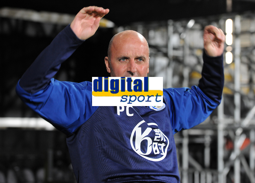 Football - 2019 / 2020 Sky Bet (EFL) Championship - Fulham vs. Wigan Athletic<br /> <br /> Wigan Manager, Paul Cook, at Craven Cottage.<br /> <br /> COLORSPORT/ANDREW COWIE