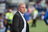 Portsmouth Manager, Kenny Jackett during the EFL Sky Bet League 1 match between Portsmouth and Oxford United at Fratton Park, Portsmouth, England on 18 August 2018.