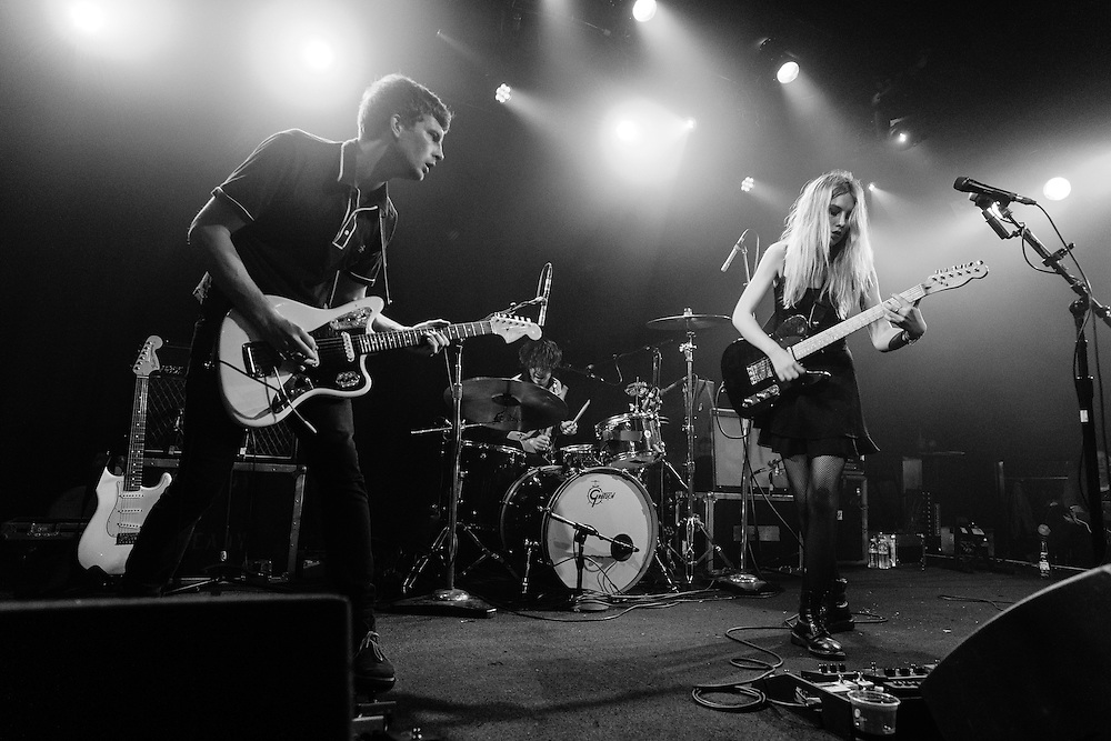 Ellie Roswell/Wolf Alice performing live at the Independent concert venue in San Francisco, CA on May 14, 2015