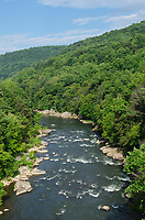 Youghiogheny River. Ohiopyle State Park, Pennsylvania.