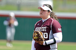 22 April 2017:  Kaitlin Beason during a Missouri Valley Conference (MVC) women's softball game between the Missouri State Bears and the Illinois State Redbirds on Marian Kneer Field in Normal IL