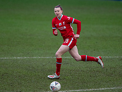 BIRKENHEAD, ENGLAND - Sunday, March 14, 2021: Liverpool's Meikayla Moore during the FA Women's Championship game between Liverpool FC Women and Coventry United Ladies FC at Prenton Park. Liverpool won 5-0. (Pic by David Rawcliffe/Propaganda)