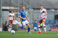 Bradford City midfielder Mathew Lund (30)   during the EFL Sky Bet League 1 match between Rochdale and Bradford City at Spotland, Rochdale, England on 21 April 2018. Picture by Mark Pollitt.