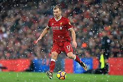10th December 2017 - Premier League - Liverpool v Everton - Ragnar Klavan of Liverpool - Photo: Simon Stacpoole / Offside.