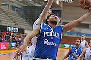 TRENTO, 25/07/2012<br /> TRENTINO BASKET CUP 2012<br /> ITALIA - FINLANDIA<br /> NELLA FOTO: STEFANO MANCINELLI<br /> FOTO CIAMILLO