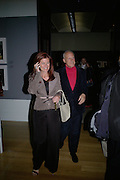 Lord and Lady Foster, How We Are- Photographing Britian. Opening at the Tate. Millbank. 21 May 2007.  -DO NOT ARCHIVE-© Copyright Photograph by Dafydd Jones. 248 Clapham Rd. London SW9 0PZ. Tel 0207 820 0771. www.dafjones.com.