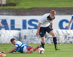 Cowdenbeath's Lewis Milne and Falkirk's Jay Fulton.<br /> Cowdenbeath 1 v 0 Falkirk, 14/9/2013.<br /> ©Michael Schofield.