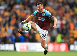 Burnley's Phillip Bardsley in action during the game