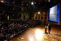 10 NOV 2004, BERLIN/GERMANY:<br /> Gerhard Schroeder, SPD, Bundeskanzler, haelt eine Rede, Festveranstaltung zum 5-jaehrigen Jubilaeum der Zeitschrift Berliner Republik, Hauptstadtrepräsentanz der Deutschen Telekom<br /> IMAGE: 20041110-03-035<br /> KEYWORDS: 5 Jahre, Jubiläum, speech, Übersicht, Uebersicht
