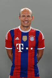 09-08-2014 DUI: Teampresentatie 2014-2015 FC Bayern Munchen, München<br /> Arjen Robben (FC Bayern Muenchen) <br /> <br /> ***NETHERLANDS ONLY***