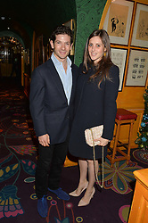SAM & BELLA WALEY-COHEN at a Thanksgiving dinner hosted by Alexander Gilkes of Paddle8 at Annabel's, 44 Berkeley Square, London on 23rd November 2016.