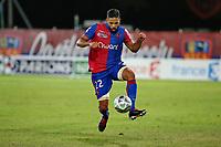 SOCCER : GFC Ajaccio vs Red Star -Coupe de la ligue - 08/22/201<br /> J. Mombris (GFCA) vs (Red Star)<br /> Norway only