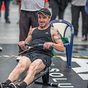 Anton Richter-Visser MALE LIGHTWEIGHT Masters C 500mtr Race #18  01:30pm <br /> <br /> www.rowingcelebration.com Competing on Concept 2 ergometers at the 2018 NZ Indoor Rowing Championships. Avanti Drome, Cambridge,  Saturday 24 November 2018 © Copyright photo Steve McArthur / @RowingCelebration