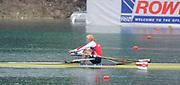 Bled, SLOVENIA,  Women's  Single  Sculls, BLRW1X, Ekaterina KARSTEN-KHODOTOVITC 1st FISA World Cup. Third day. Rowing Course. Lake Bled.  Sunday  30/05/2010  [Mandatory Credit Peter Spurrier/ Intersport Images]