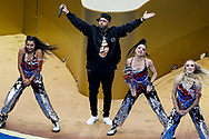 General view of the show with Nicky Jam during the closing ceremony before the 2018 FIFA World Cup Russia, final football match between France and Croatia on July 15, 2018 at Luzhniki Stadium in Moscow, Russia - Photo Tarso Sarraf / FramePhoto / ProSportsImages / DPPI